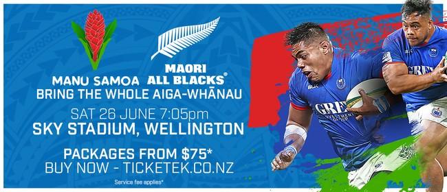 Pacific In Union - Manu Samoa vs. Maori All Blacks