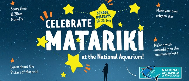 Celebrate Matariki at the National Aquarium