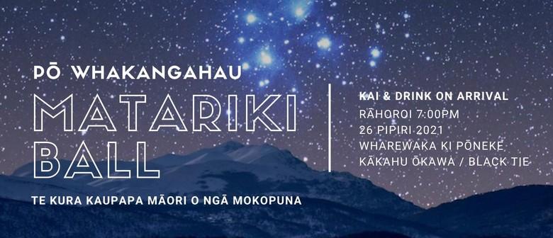 Matariki Ball - Pō Whakangāhau: CANCELLED