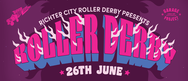 Roller Derby Richter City Convicts vs Nelson Sirens of Smash: CANCELLED