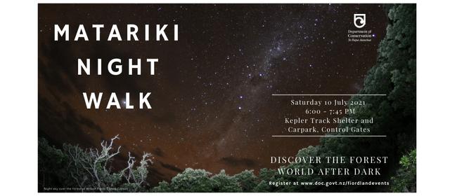 Matariki Night Walk