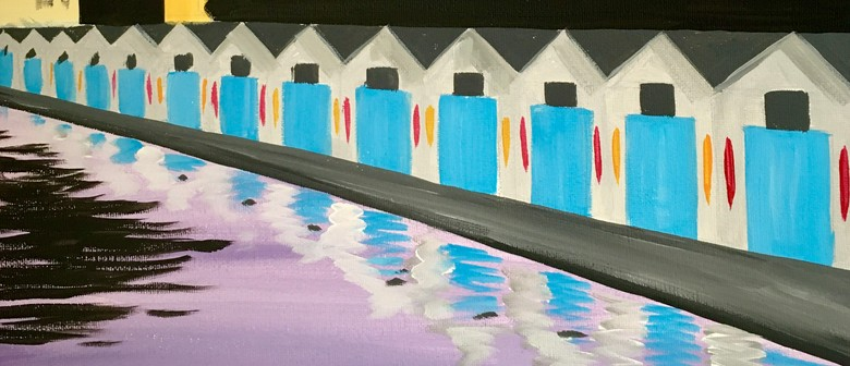 Paint and Wine Night - Oriental Bay Sheds