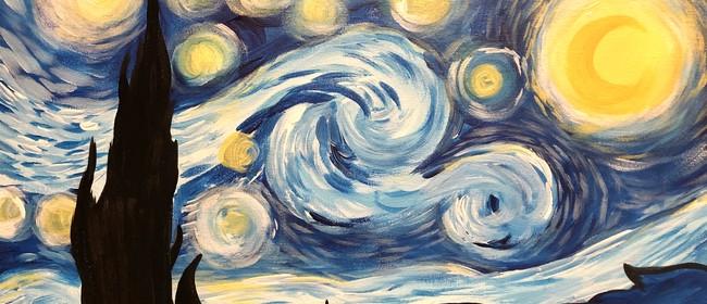 Paint & Wine Night - A Starry Night
