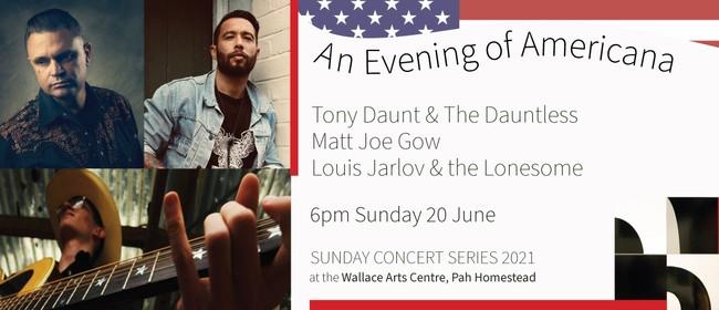 Evening of Americana: Tony Daunt, Matt Joe Gow, Louis Jarlov