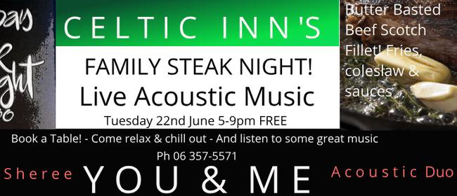 Family Steak Night ft You & Me