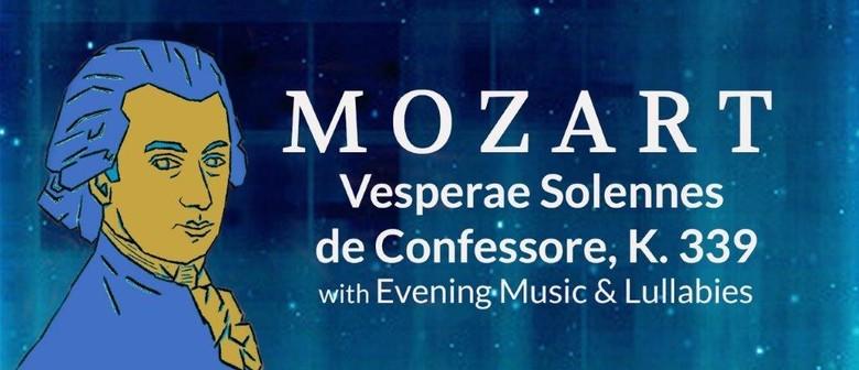 Bach Choir: Mozart Vespers