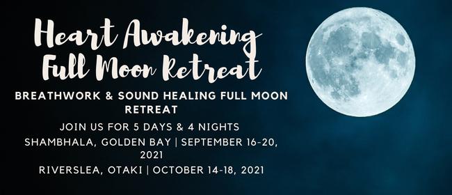 5 Day Breathwork & Sound Healing Full Moon Retreat