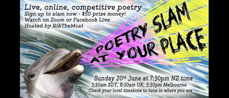 Poetry Slam at Your Place - Event #42