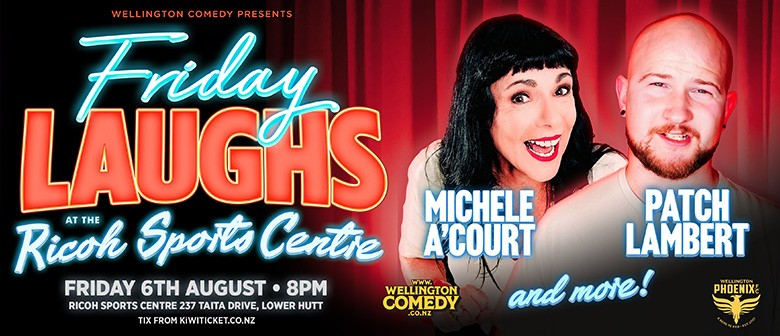 Friday Laughs with Michele A'Court