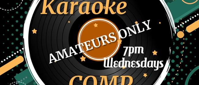 Amateurs only Karaoke Comp