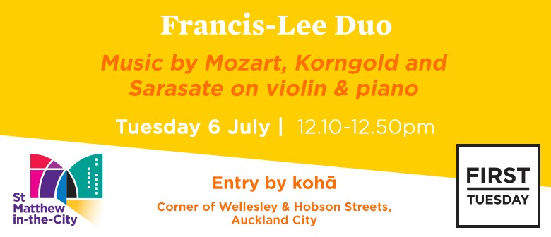 First Tuesday Concert - Francis-Lee Duo
