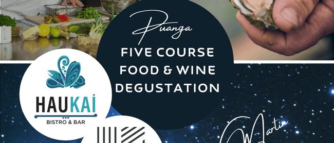 Puanga Degustation Dinner with Kono & Martin Bosley