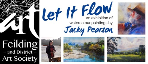Let it Flow - and exhibition by Jacky Pearson