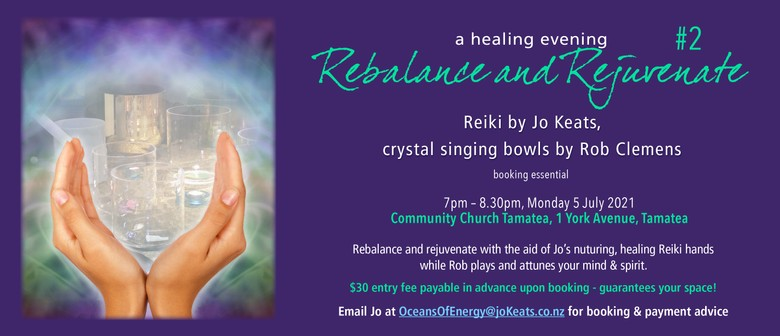 A Healing Evening with Jo Keats & Rob Clemens