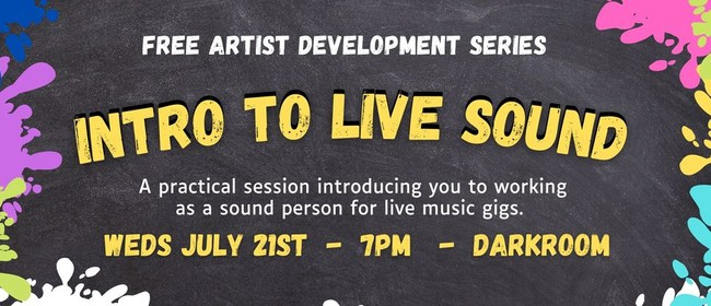 Free Seminar - Intro to Live Sound
