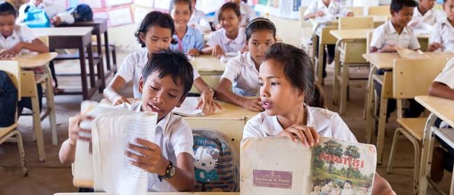Cambodia Charitable Trust Degustation Lunch with Helen Clark