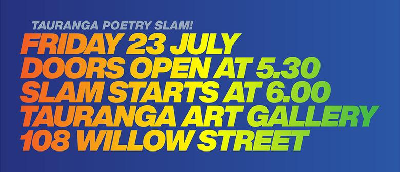 Wham Bam Tauranga Poetry Slam