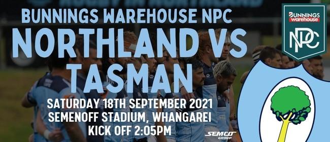Northland vs Tasman