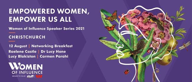 Women of Infuence Speaker Series - Christchurch