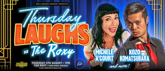 Thursday Laughs with Michele A'Court