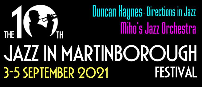 Jazz in Martinborough 2021: CANCELLED