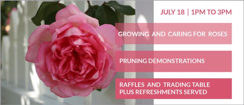 Auckland Rose Society - Rose Workshop
