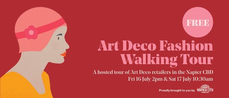 Winter Art Deco Fashion Walking Tour