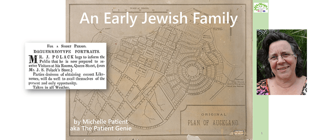 An early Auckland Jewish family with Michelle Patient