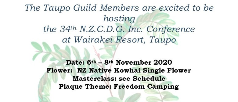 New Zealand Cake Decorators Guild Conference 2021: CANCELLED