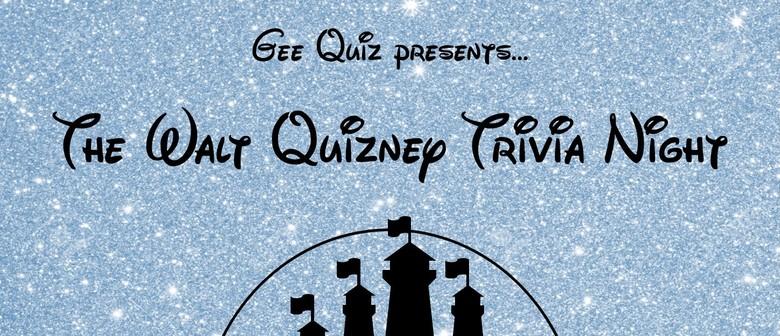 The Walt Quizney Quiz