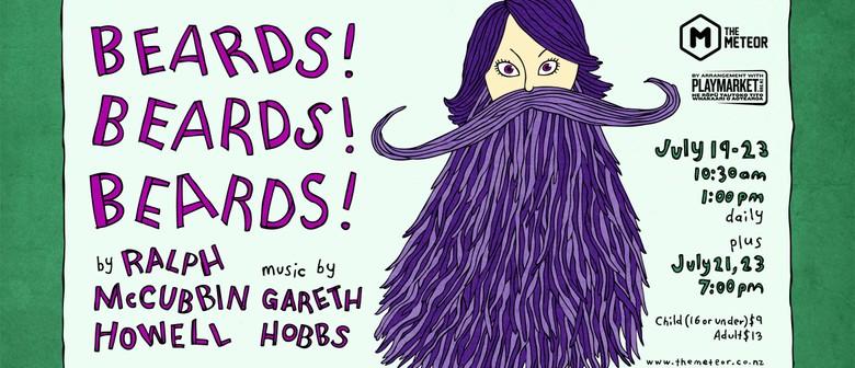Beards! Beards! Beards! by Ralph McCubbin Howell