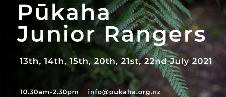 Pūkaha Junior Rangers July School Holiday Programme