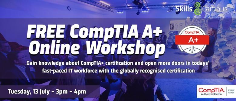 Online CompTIA A+ Workshop