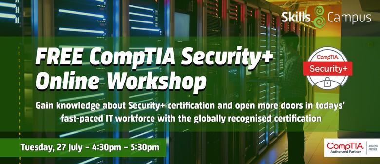 Online CompTIA Security+ Workshop