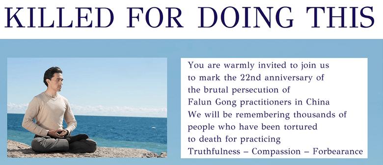 Falun Dafa Public Event - 22 Years of Being Persecuted
