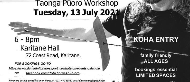 Porotiti Mindfulness Meditation & Taonga Pūoro Workshop