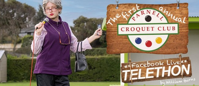 The First Annual Parnell Croquet Club Facebook Live Telethon