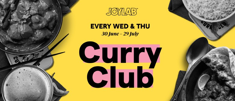 Can You Conquer The Joylab Curry Club?