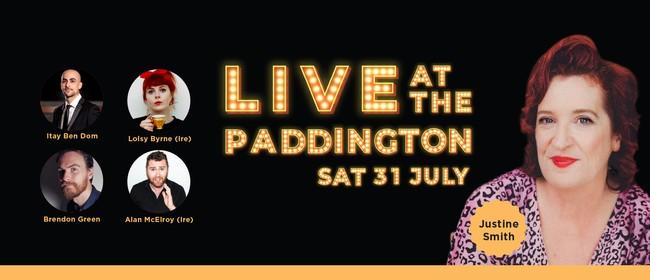 Live Comedy at the Paddington