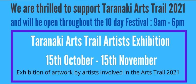 Taranaki Arts Trail Artists Exhibition 2021
