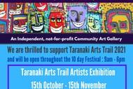 Image for event: Taranaki Arts Trail Artists Exhibition 2021