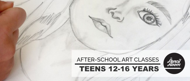 Teens After-School Art Classes - 12 to 16 years