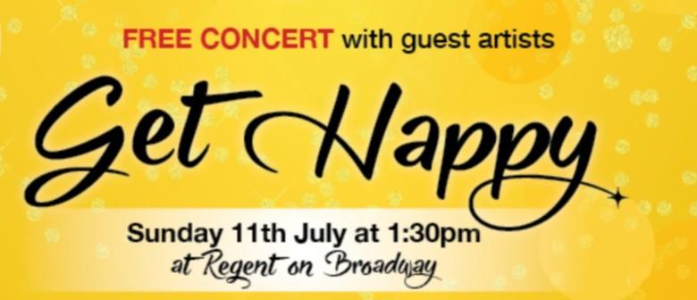 """Unity Singers """"Get Happy"""" Concert"""