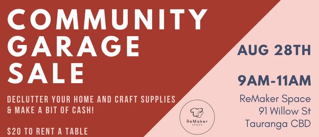 ReMaker Community Garage Sale