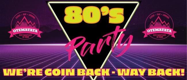 2021 Waitaki Valley Ball - 80's Extravaganza