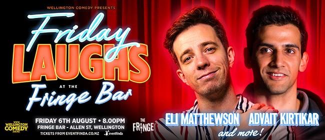 Friday Laughs at Fringe Bar