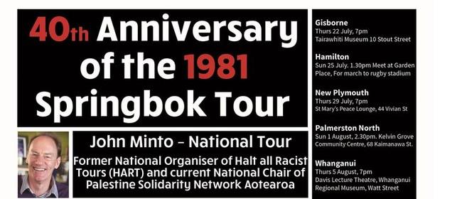 40th Anniversary of the 1981 Springbok Tour