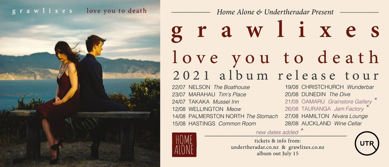 Grawlixes 'Love You To Death' Album Release Tour: CANCELLED