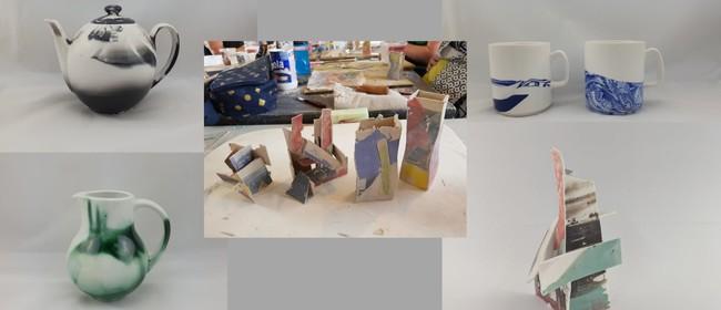 Pottery Class - Slip Casting