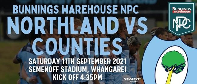 Northland vs Counties Manukau